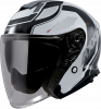 JET helmet AXXIS MIRAGE SV ABS village a1 gloss black XXL