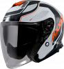 JET helmet AXXIS MIRAGE SV ABS village a4 gloss fluor orange L