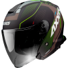JET helmet AXXIS MIRAGE SV ABS village b3 matt fluor yellow L
