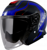 JET helmet AXXIS MIRAGE SV ABS village b7 matt blue L