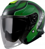 JET helmet AXXIS MIRAGE SV ABS village c6 matt green L